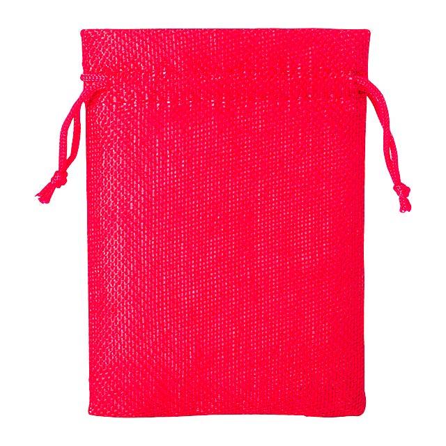 Dacrok polyesterový pytlík - červená