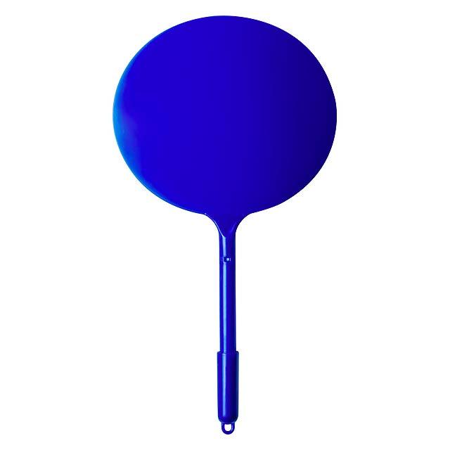 Plastové kuličkové pero s úchytem na plážový tenis. - modrá - foto