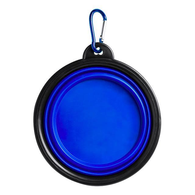 Baloyn skládací miska pro psy - modrá