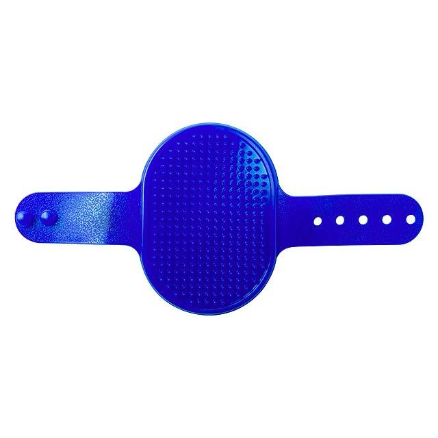 Weton kartáč pro zvířata - modrá