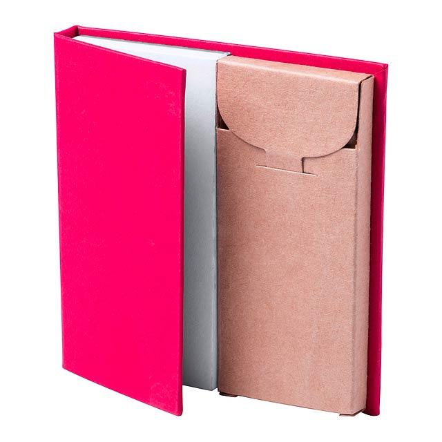 Lumar blok s perem - červená