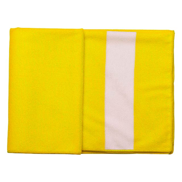 Romid ručník - žlutá