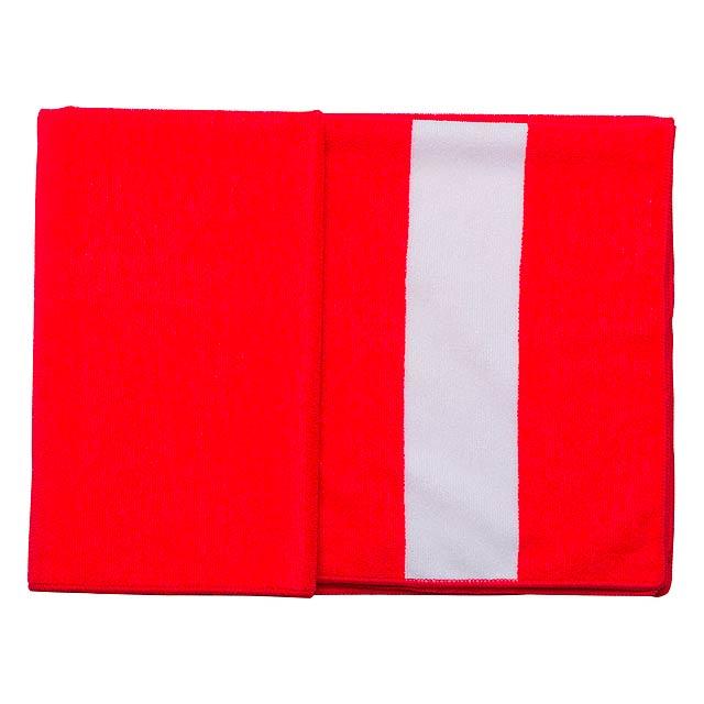 Romid ručník - červená