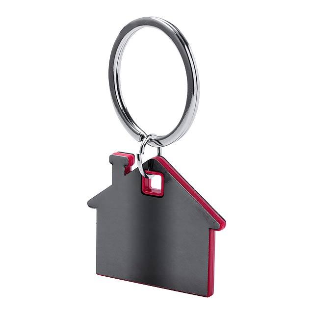 Zosin přívěšek na klíče - červená