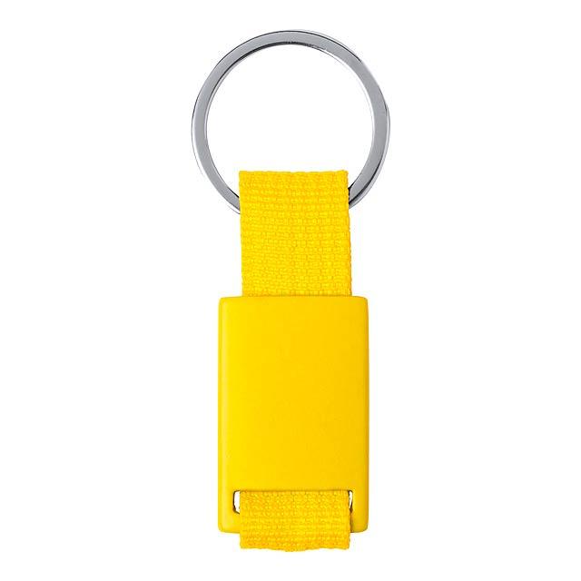 Slayter přívěšek na klíče - žlutá