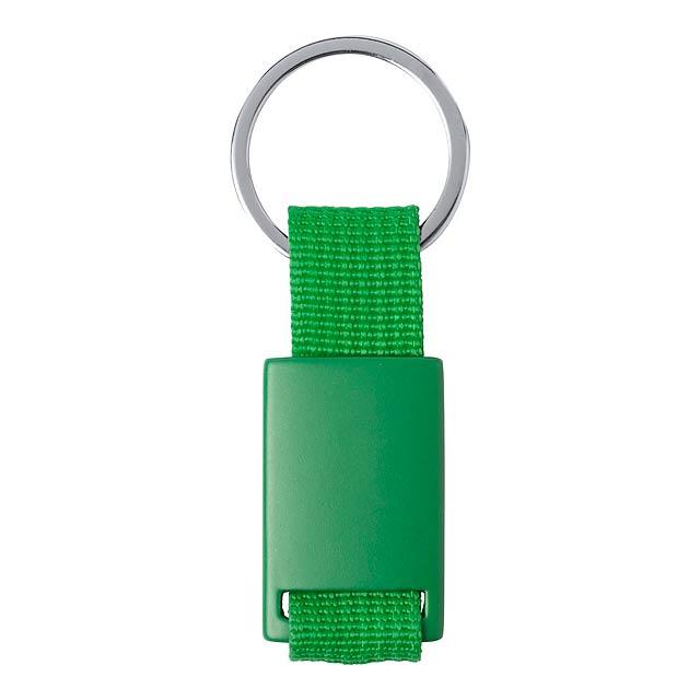 Slayter přívěšek na klíče - zelená