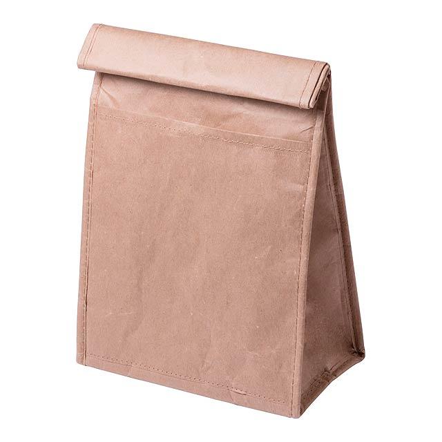 Papírová chladící taška s hliníkovou vložkou.  - multicolor - foto