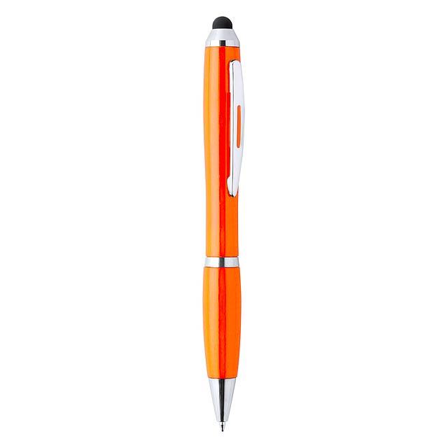 Zeril dotykové kuličkové pero - oranžová