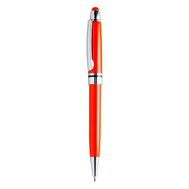 Yeiman dotykové kuličkové pero - oranžová