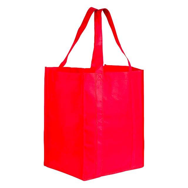 Shop Xl nákupní taška - červená