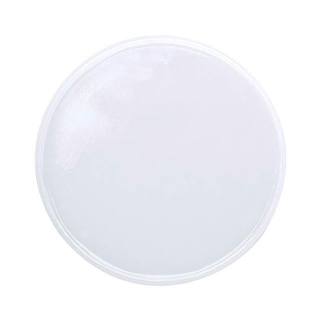 Manek žeton - biela