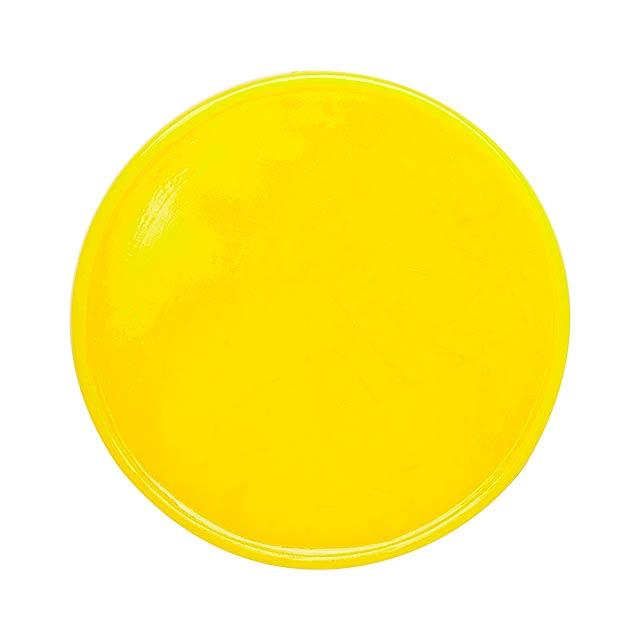 Manek žeton - žlutá
