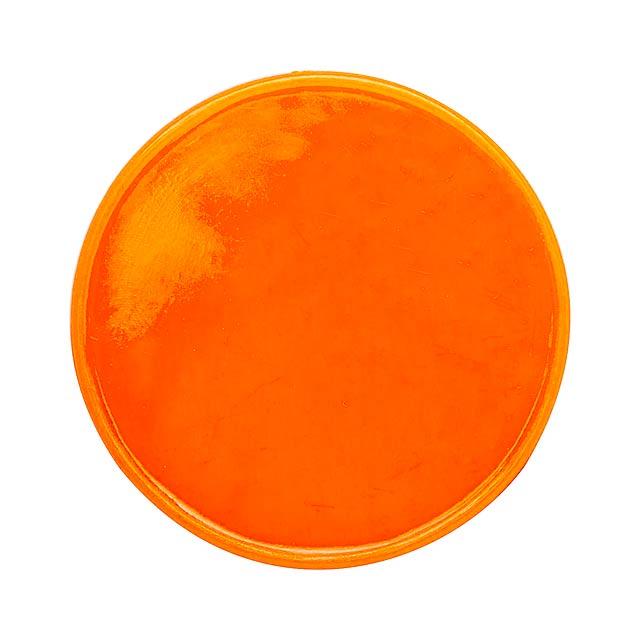 Manek žeton - oranžová