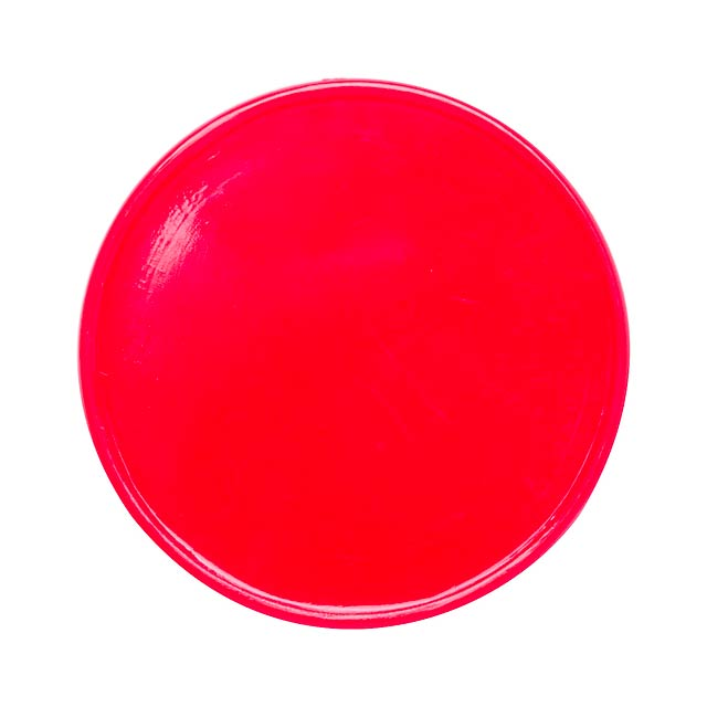 Manek žeton - červená