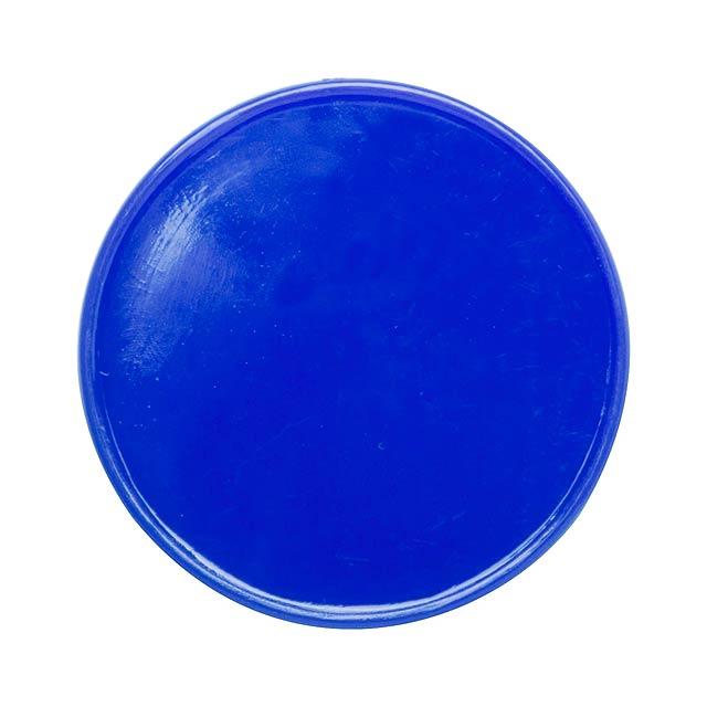 Manek žeton - modrá