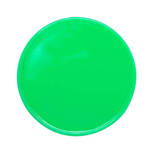 Manek žeton - zelená