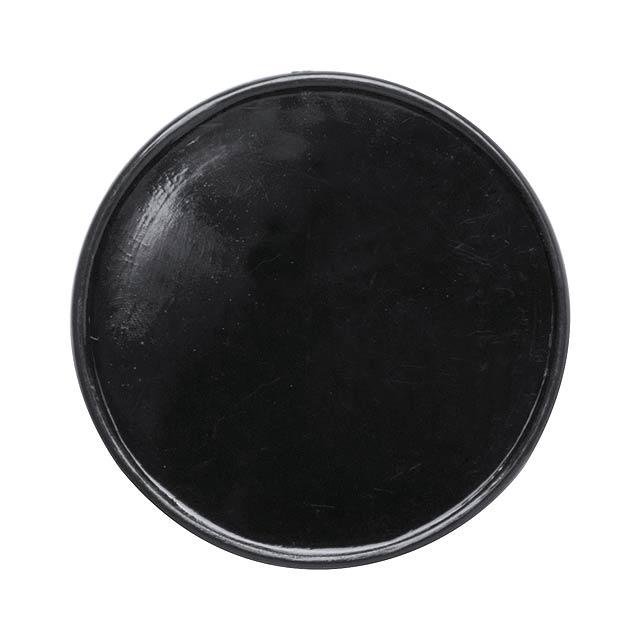 Manek žeton - černá