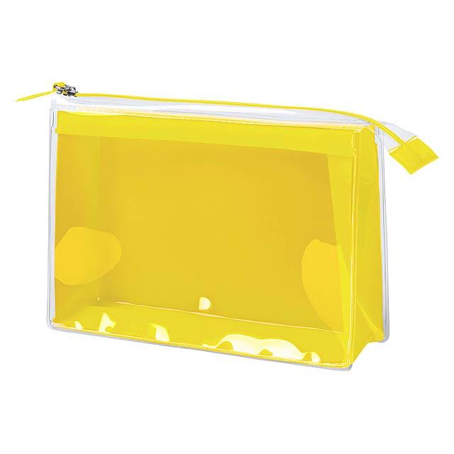 Pelvar kosmetická taška - žlutá