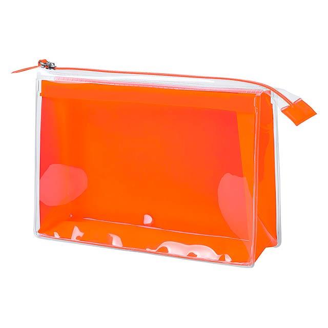 Pelvar kosmetická taška - oranžová