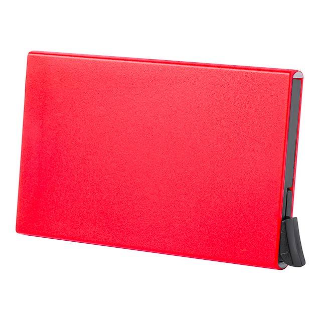 Lindrup vizitkář - červená