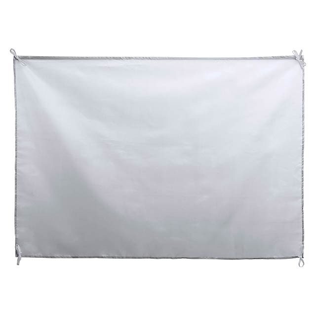 Dambor vlajka - bílá