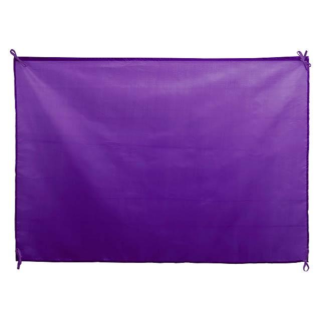 Dambor vlajka - fialová