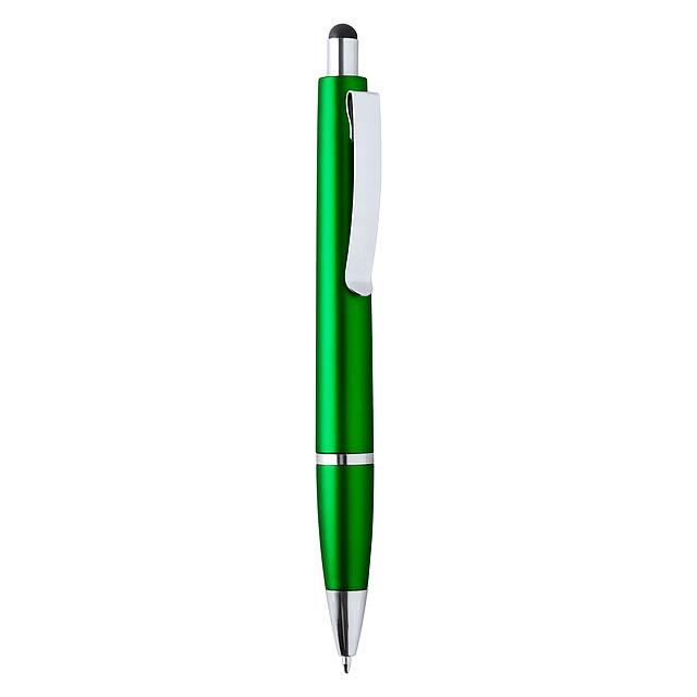 Runer dotykové kuličkové pero - zelená