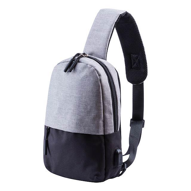 Batoh přes rameno s polstrovaným prostorem na tablet (10