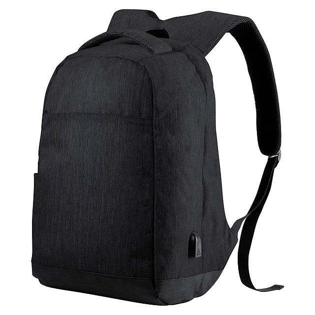 Vectom batoh - černá