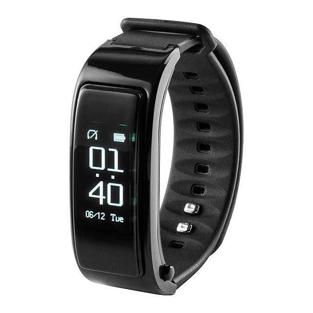 Rusk chytré hodinky - černá