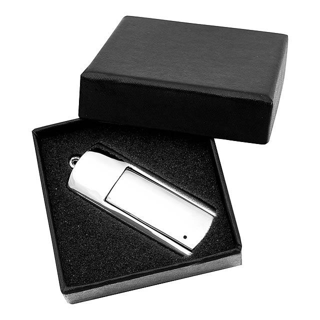 Krom 16GB USB flash disk - stříbrná