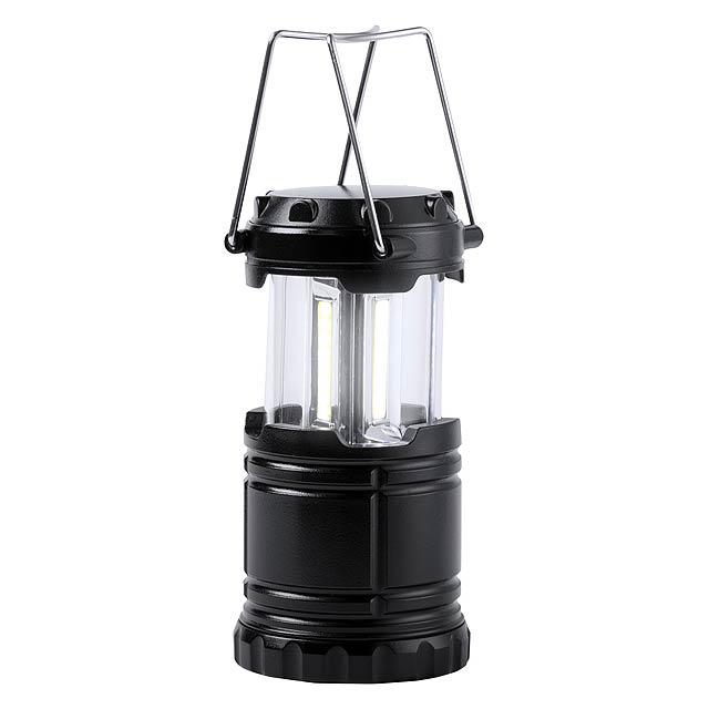 Demil kempinková lampa - černá