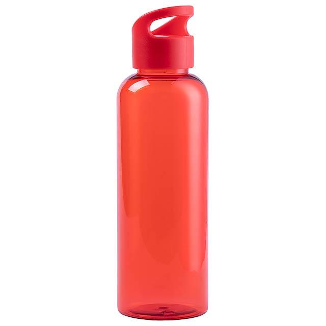 Pruler sportovní láhev na pití - červená