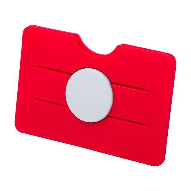 Tisson obal na kreditní karty - červená