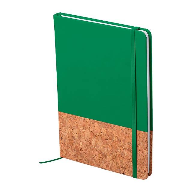 Bluster blok - zelená