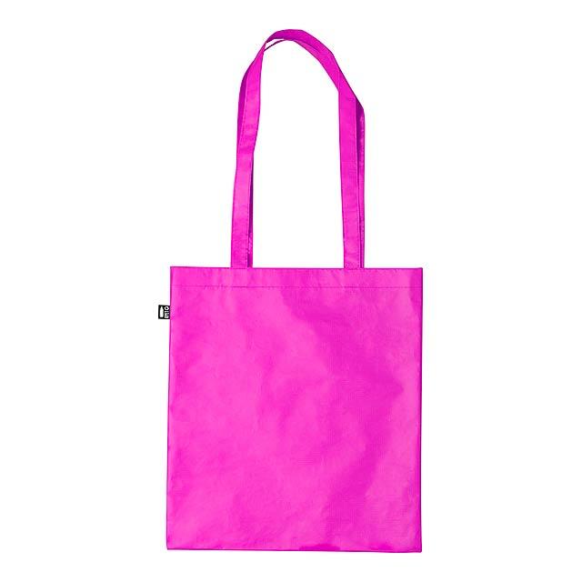 Frilend nákupní taška - fuchsiová (tm. růžová)