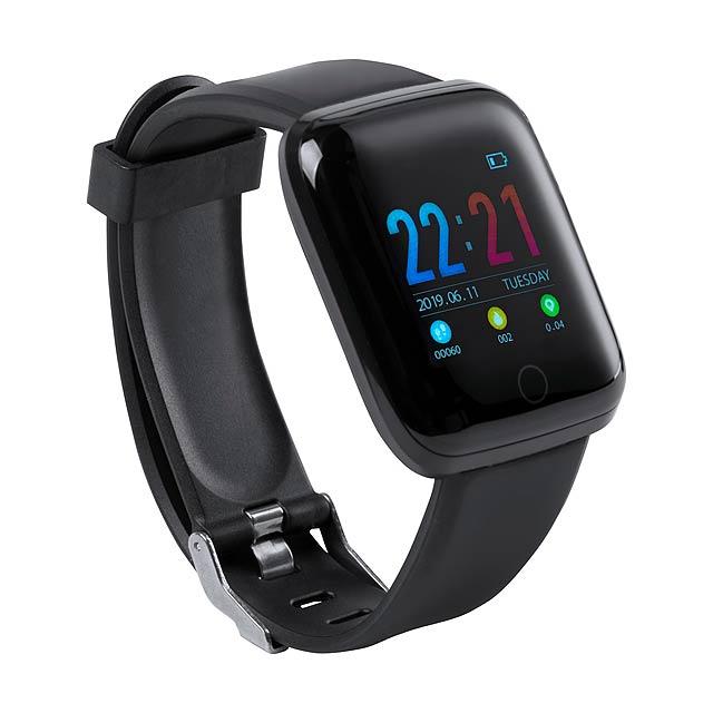 Yosman chytré hodinky - černá