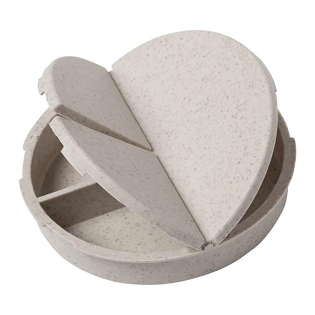 Betur box na pilulky - dřevo