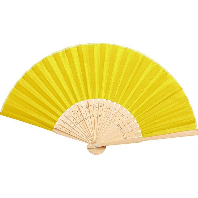 Kronix vějíř - žlutá