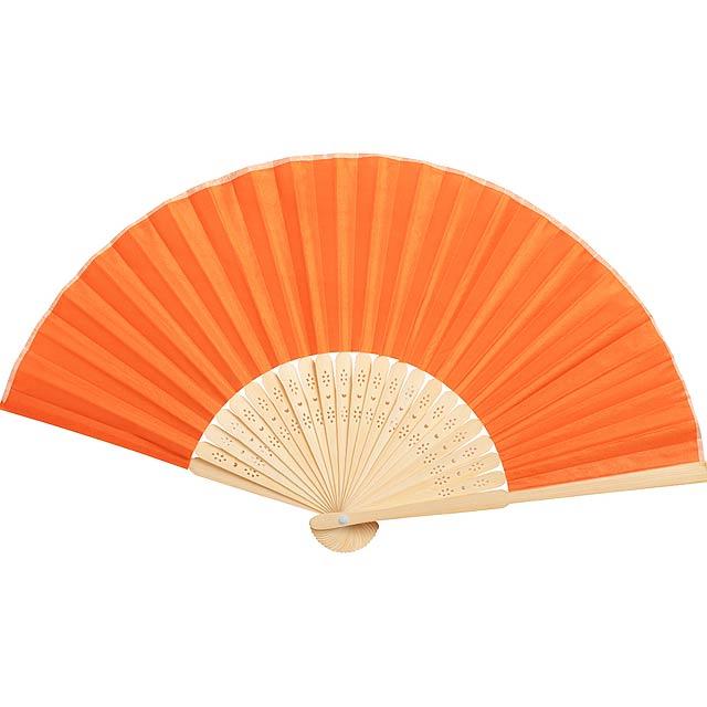 Kronix vějíř - oranžová