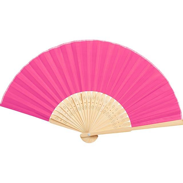 Kronix vějíř - růžová