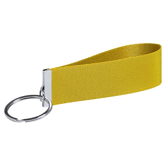 Tofin přívěšek na klíče - žlutá