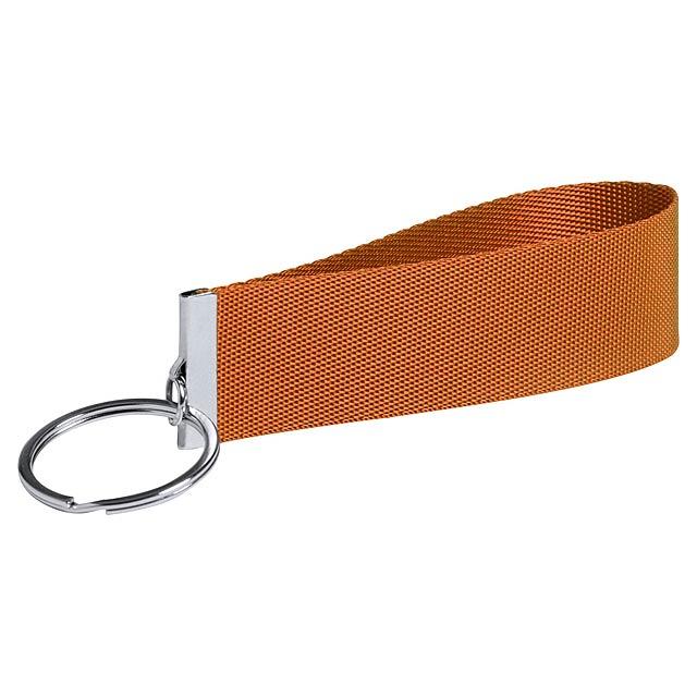 Tofin přívěšek na klíče - oranžová