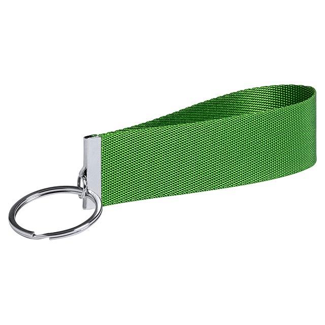 Tofin přívěšek na klíče - zelená