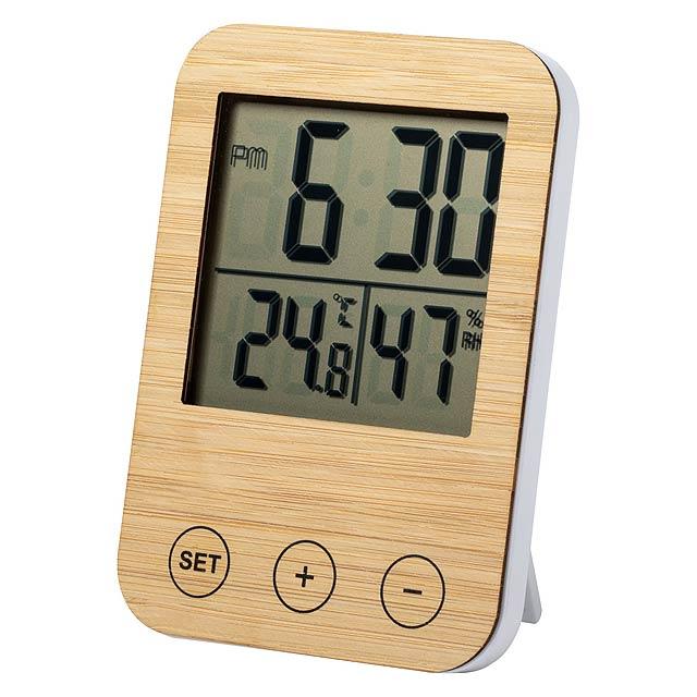 Helein meteorologická stanice - dřevo