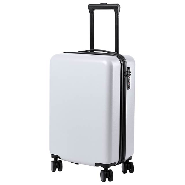 Hessok kufr na kolečkách - bílá