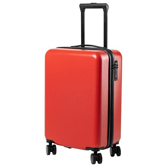 Hessok kufr na kolečkách - červená