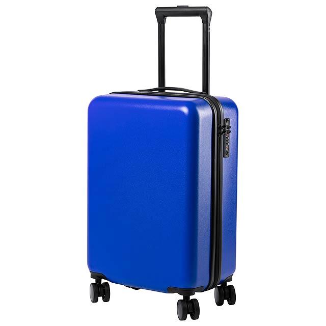 Hessok kufr na kolečkách - modrá