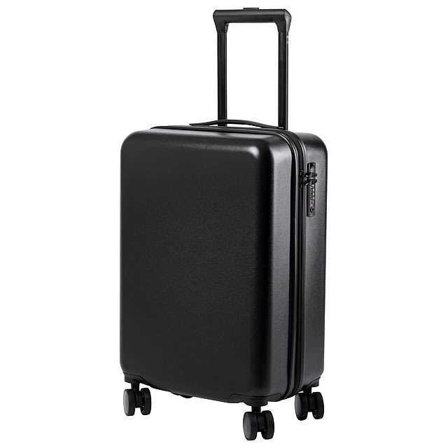 Hessok kufr na kolečkách - černá