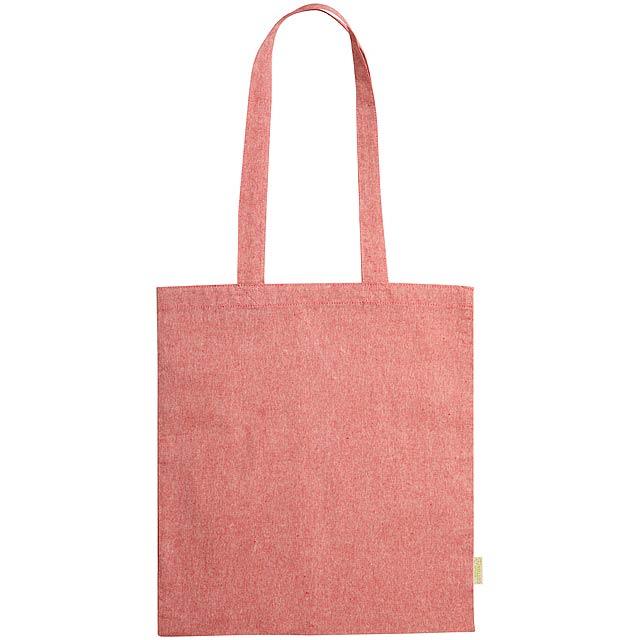 Graket bavlněná nákupní taška - červená